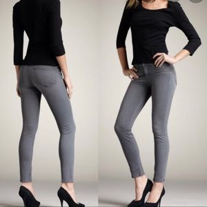 J Brand 811 Mid Rise Skinny Wink In Whiskered Gray